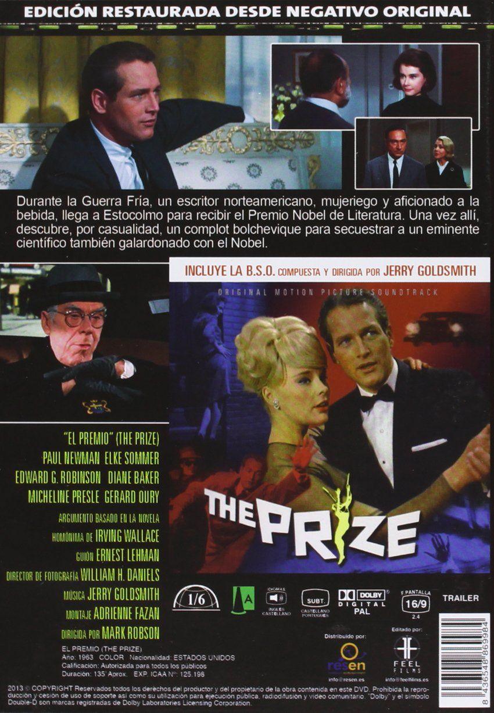 El Premio B S O Dvd El Premio Dvd Movie Posters Actor