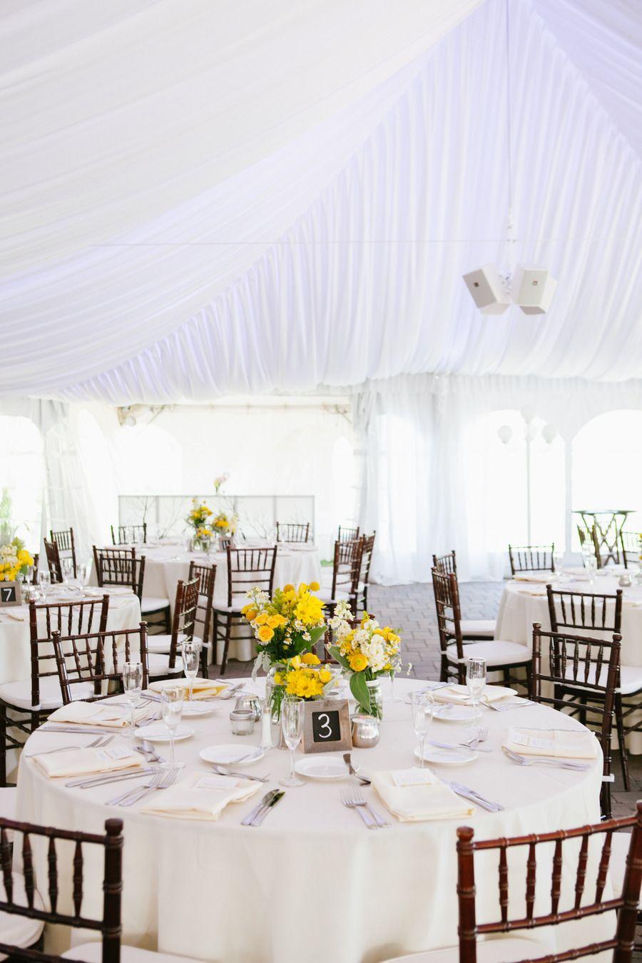 Wedding decorations yellow and gray  Rustic Yellow  Gray Wedding