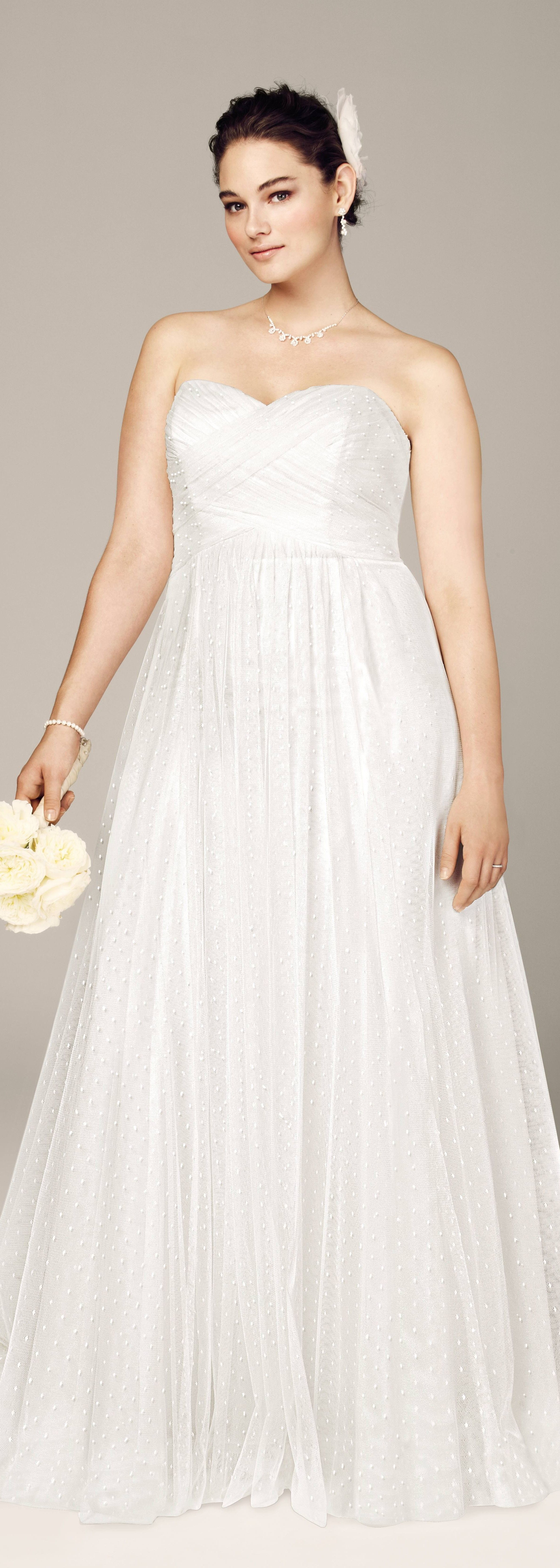 Cute Sweetheart Wedding Dress From Davids Bridal Read My Article About How