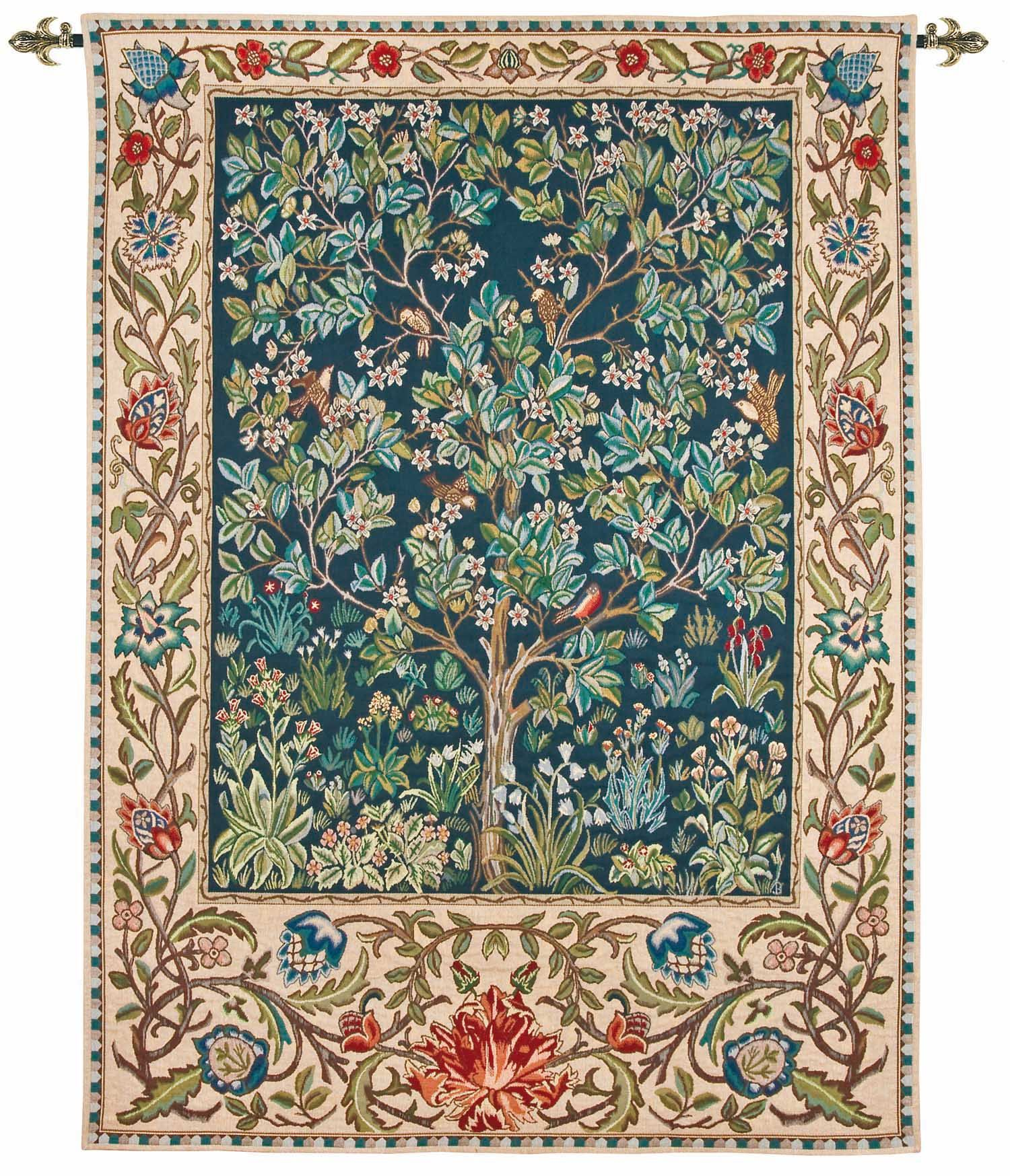 William Morris Tree Of Life Tapestry Httpwwwartsandcraftslivingcoukproductswilliam Morris Tree Of Life Tapestry