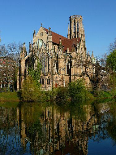 Johanneskirche - Stuttgart, Germany