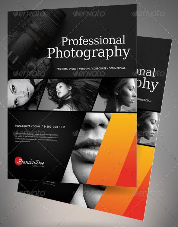 photographer flyer