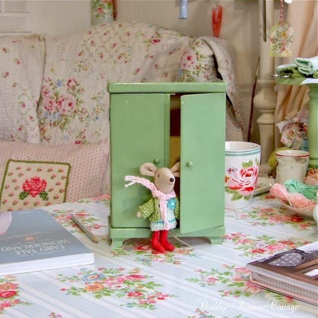 Shabby Roses Cottage Maileg Doll House Maileg Dolls Doll Furniture