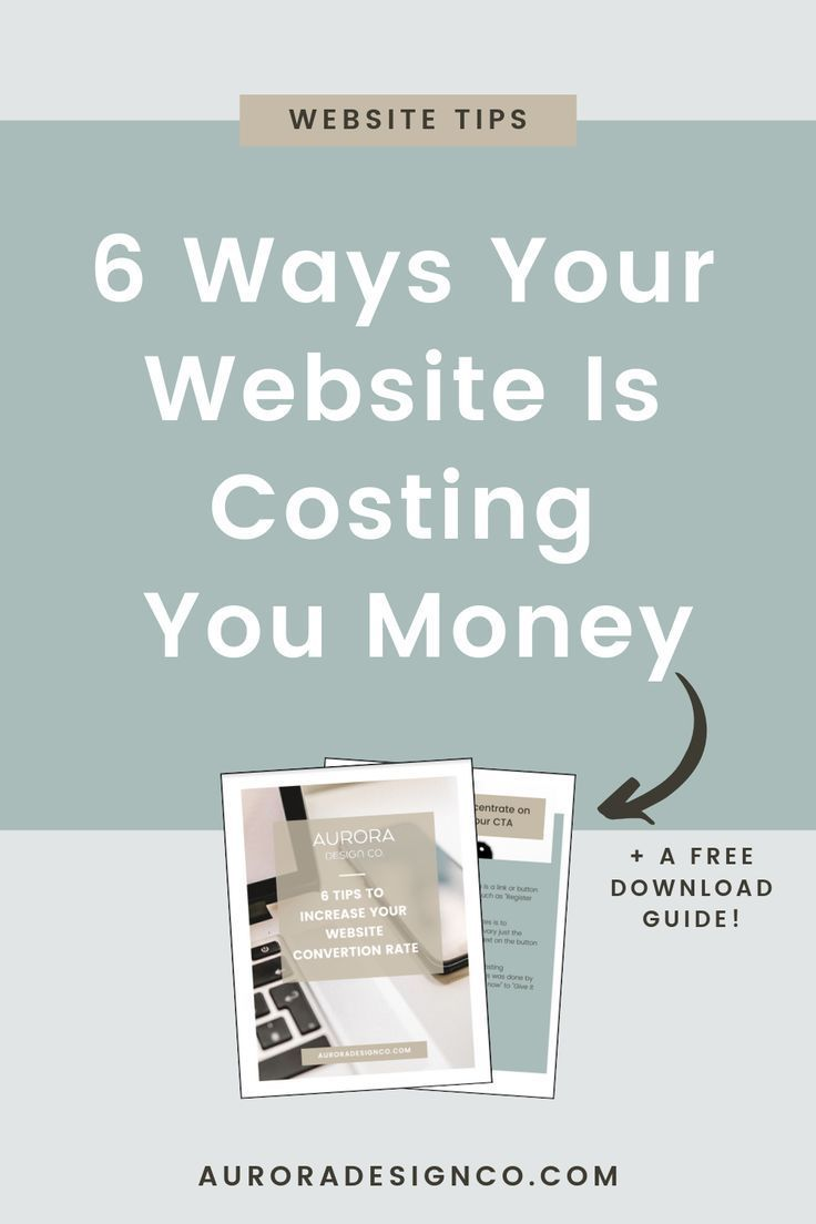 6 ways your website is costing you money is part of Small business website, Business website layout, Small business tips, Business website, Marketing tips, Marketing website - Having a functional website is extremely important, because a bad website can cost you clients and block your growth in many different ways  And all these