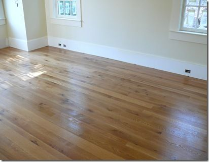 unfinshed floors,random width with tung oil finish.