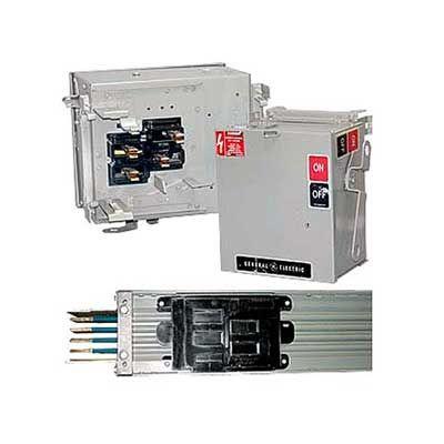 general electric circuit breakers lighting contactors panel rh pinterest com