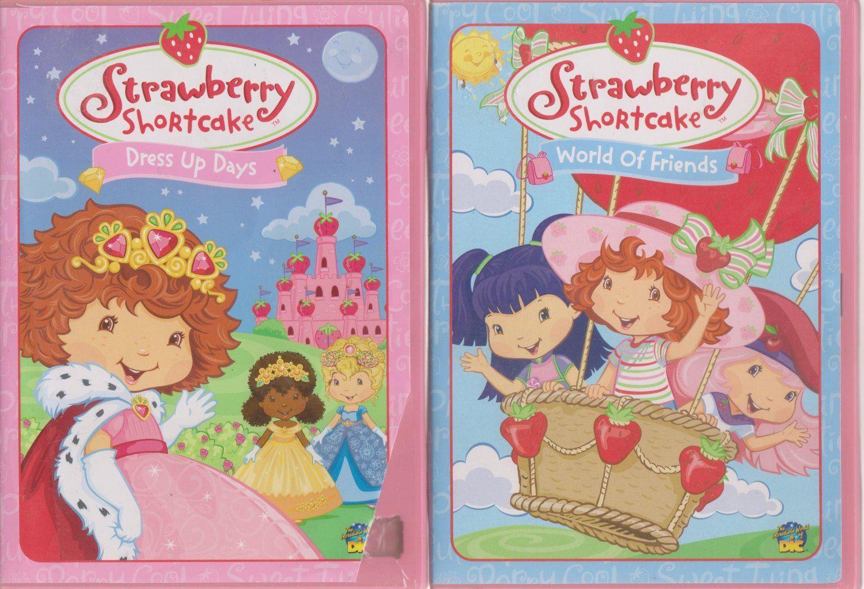 Strawberry Shortcake Dress Up Days A World Of Friends Dvd