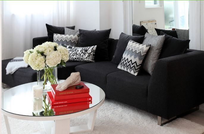 Stunning Maison Moderne Noir Et Blanc Contemporary - Awesome ...