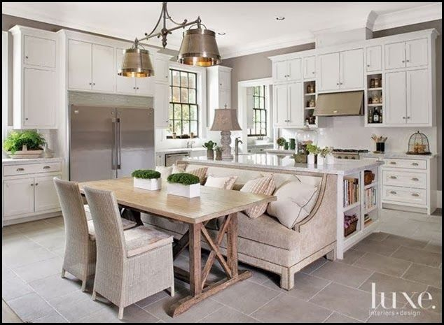 Something A Little Different Cosy Kitchen Kitchen Island With Seating Kitchen Design
