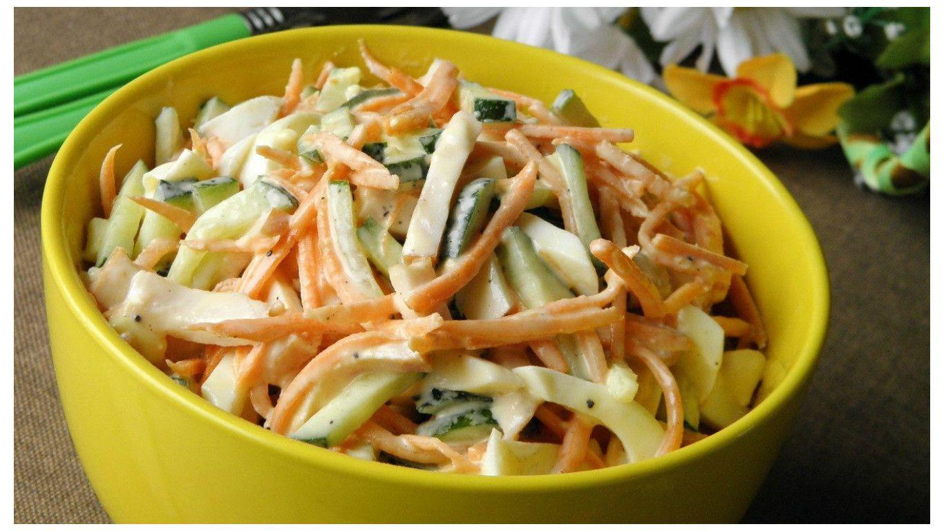 Салат с копченой курицей и корейской морковью – 8 рецептов ...