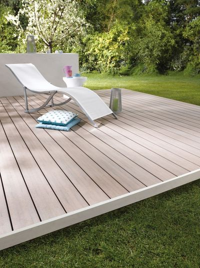 Wood Plastic Deck For Top Wet Environments, Build Patio Decking From  Composite Material | WPC | Wood Plastic Floor | Pinterest | Composite  Material, ...