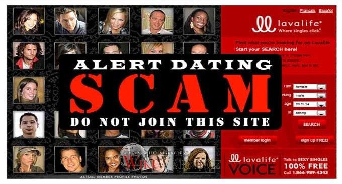 Scam on dating sites