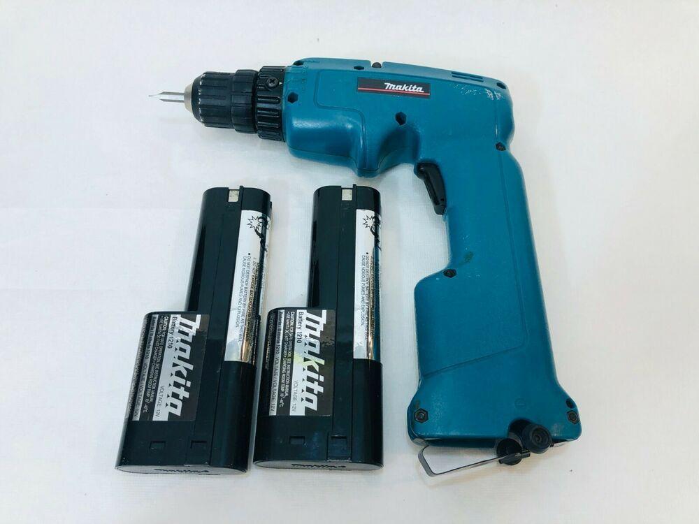 Makita 6011d 3 8 12v Cordless Drill Driver With 2 Batteries Makita Cordless Drill Drill Drill Driver