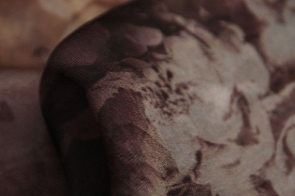 Tea Rose Garden Silk Chiffon - Silk Chiffon - Tessuti Fabrics - Online Fabric Store - Cotton, Linen, Silk, Bridal & more