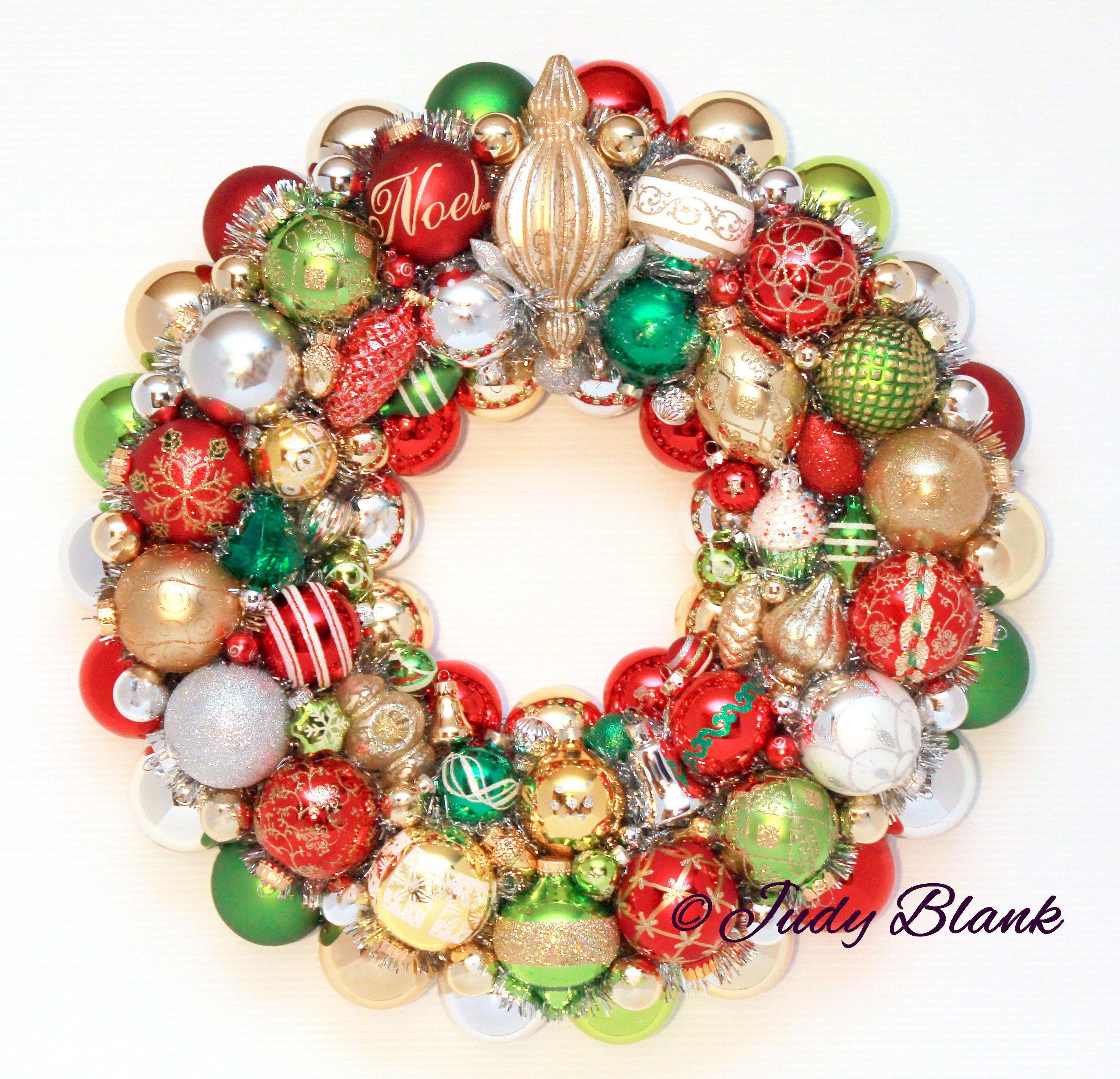 Christmas Ornament Wreath Ball Weath Vintage Ornament Wreath Noel Wreath Vintage Ornament Wreath Christmas Ornament Wreath Vintage Ornaments