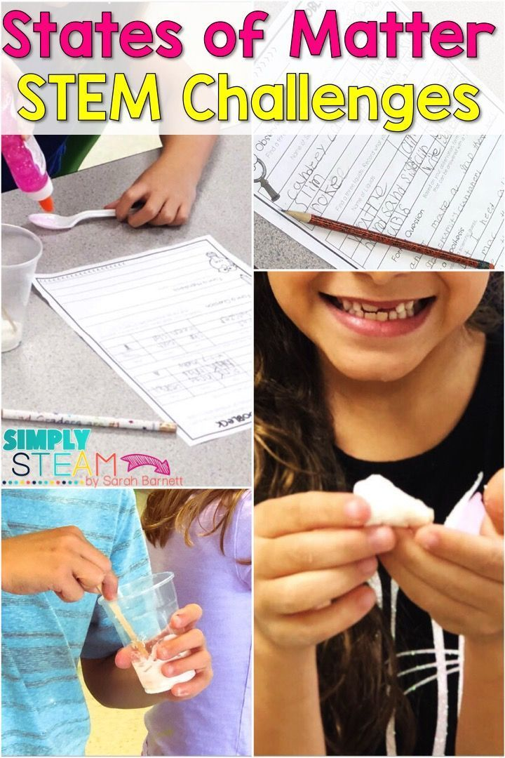 What's the Matter with Your Science Lessons? Stop wasting precious time on boring science lessons. Teach science with quick hands-on lessons. Science is fun. Shouldn't we teach it that way? Thanks to hurricane Florence, it\u2019s been weeks since I\u2019ve been able to do a STEM challenge with my class. We finally completed a challenge on Friday. They had to create a substance that has both properties of solids and liquids. It\u2019s like a dough. They used cornstarch, flour, salt, glue, and wat #stemactivitieselementary