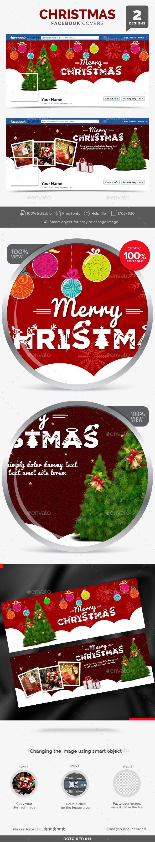 Christmas Facebook Covers 2 Designs Christmas facebook