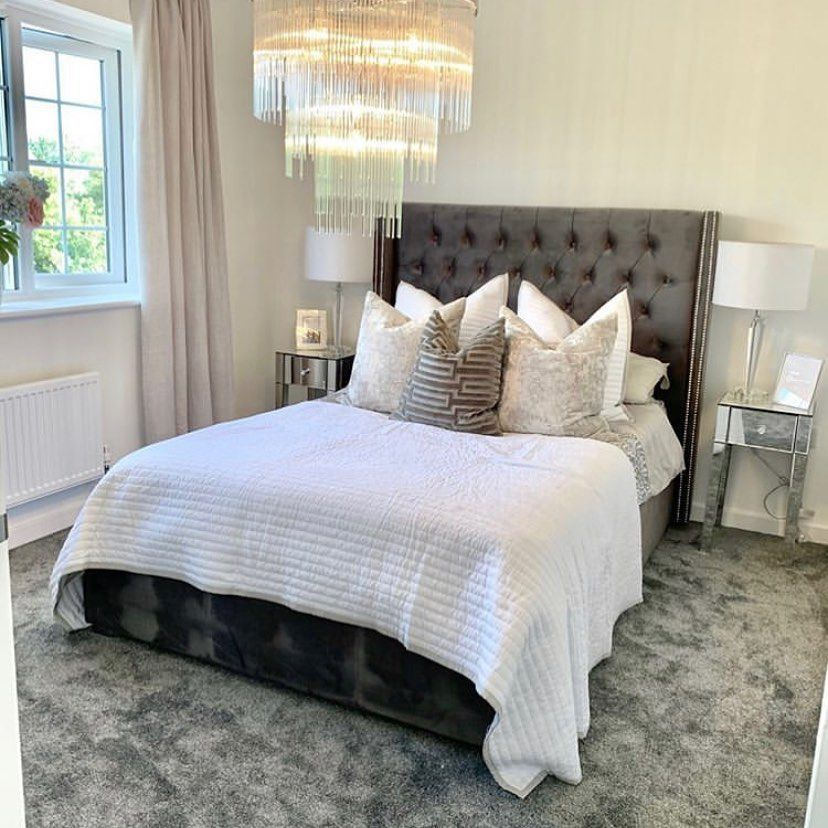 """Arista Living on Instagram: """"Totally stunning by @newbuilddreams_x!  #aristaliving #aristalivingbed #bed #bedroomdecor #bedroomideas #bedroom #bedroominspo…"""""""