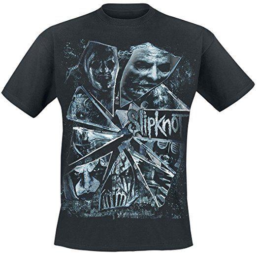Slipknot Broken Glass T-Shirt schwarz XL