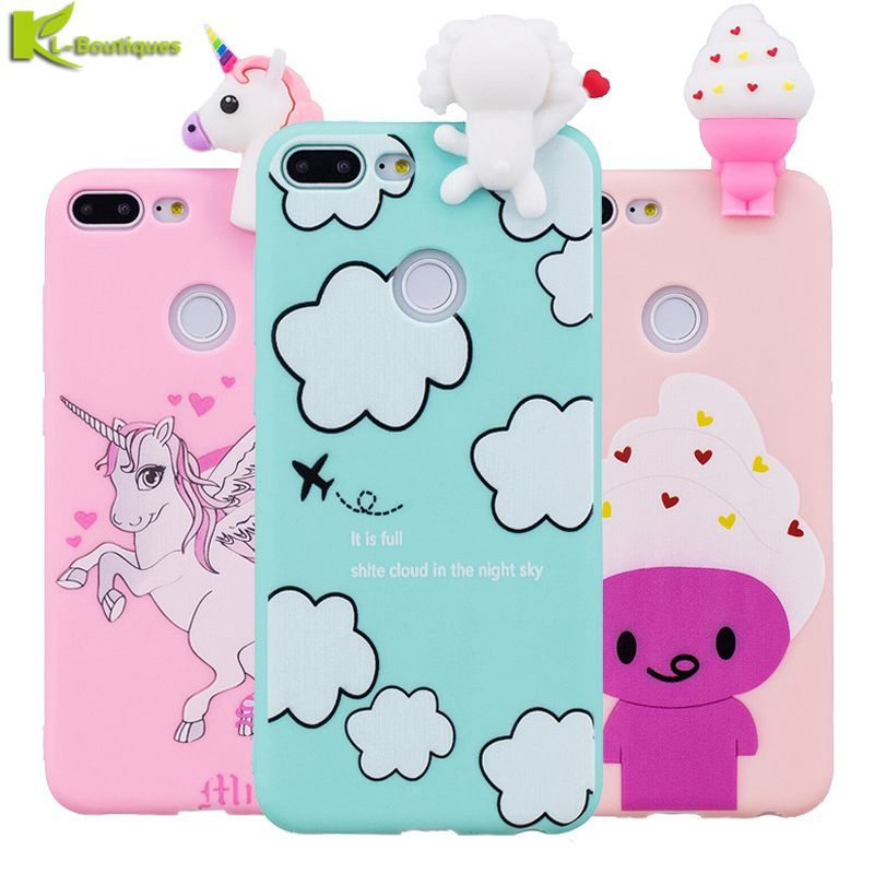 3D Cartoon Unicore Ice Cream For Huawei Cases   Huawei case, Case ...