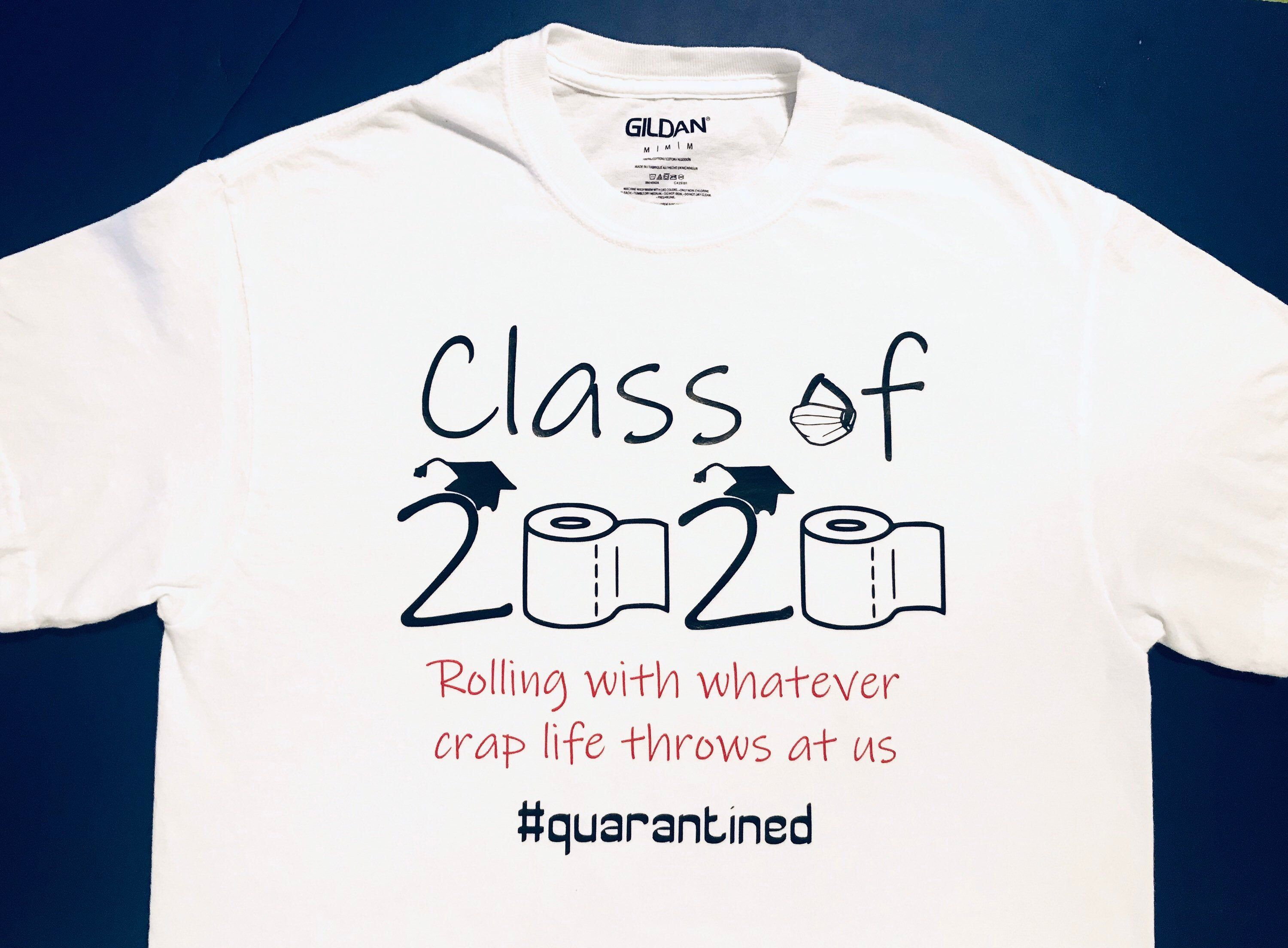 Excited To Share This Item From My Etsy Shop Class Of 2020 Shirt Graduation Humoroussaying 2020summer Gra In 2020 Graduation Funny Class Of 2020 Graduation Class