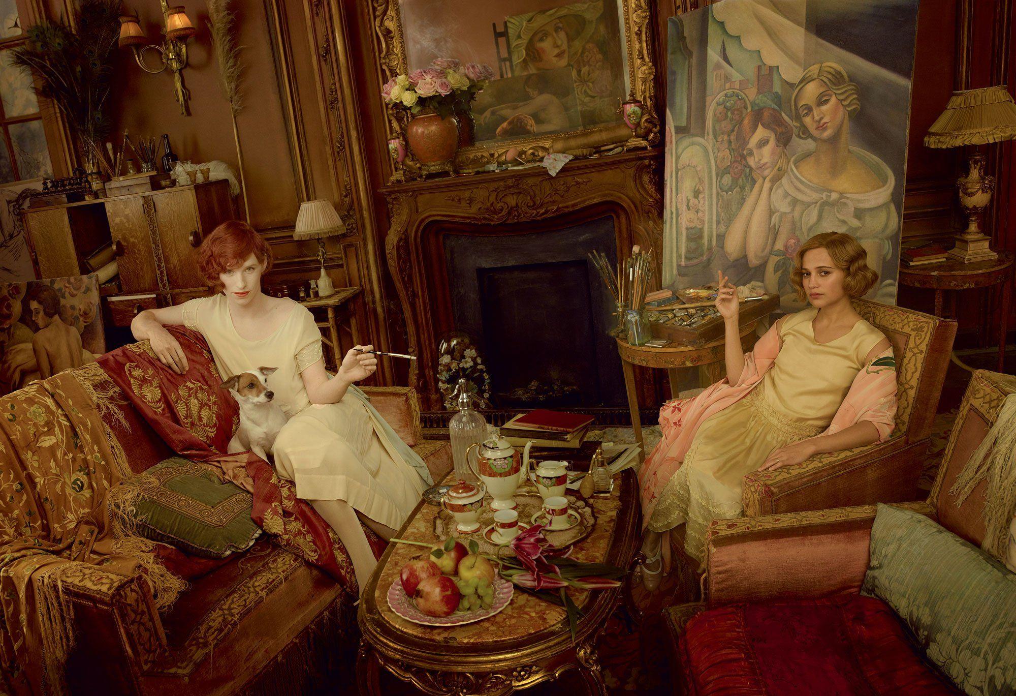 The Real Story Behind The Paintings In The Danish Girl Pinturas Para Niñas Annie Leibovitz La Chica Danesa