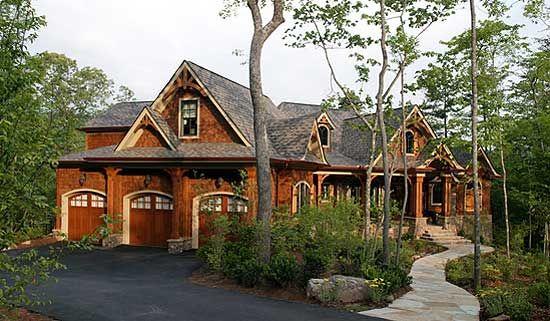 Plan 15626ge Stunning Rustic Craftsman Home Plan Craftsman