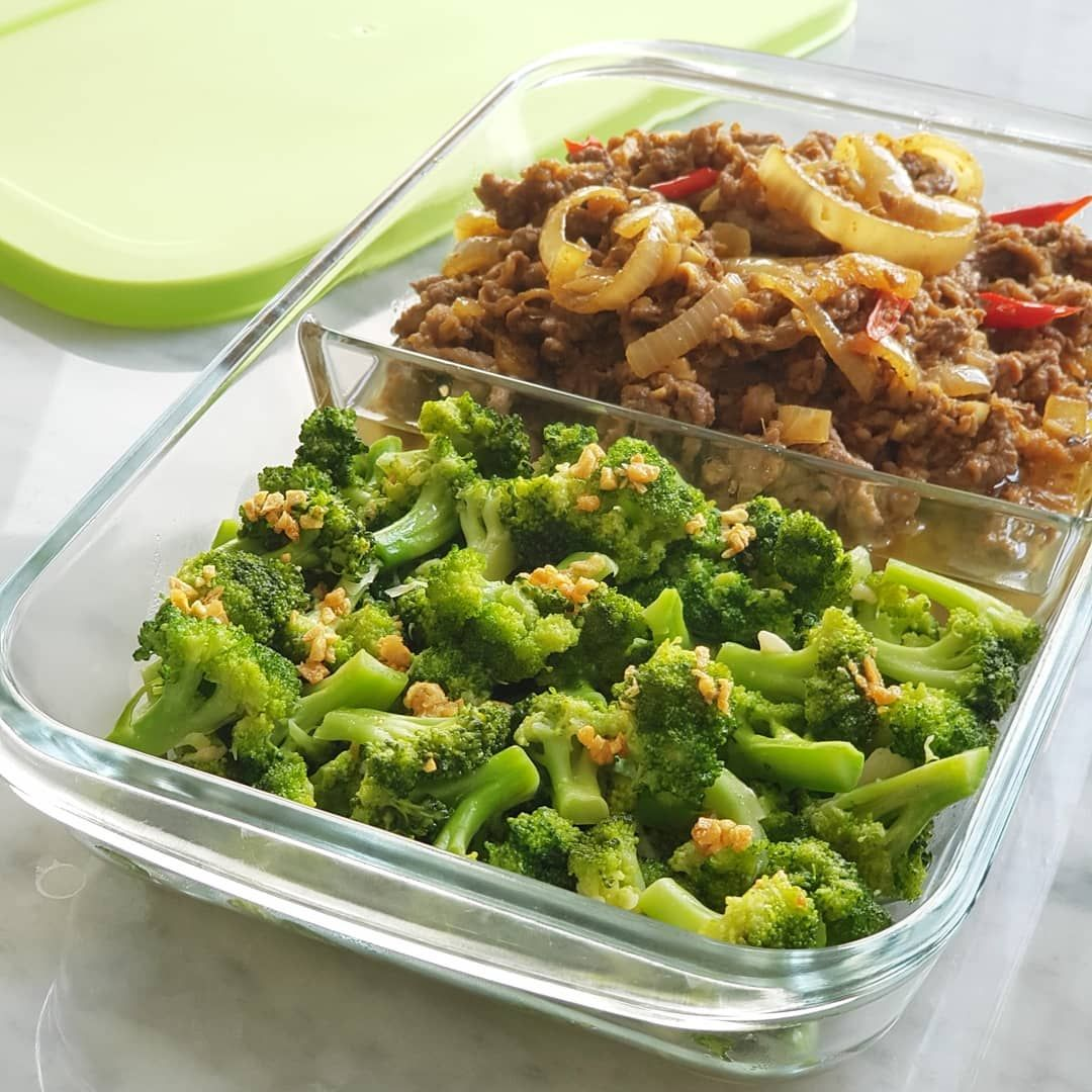 4 720 Likes 129 Comments Xander S Kitchen Xanderskitchen On Instagram Siang Masak Buat Bekal Anak Tadi Pagi Brokoli Cah Bawa Recipes Food Broccoli