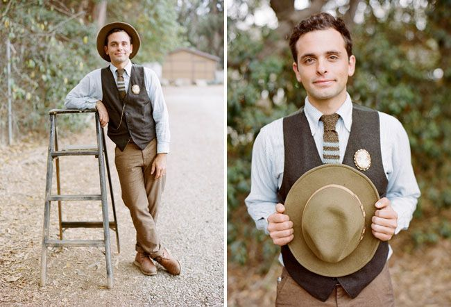 10 Ways To Style Your Groom And His Men Vintage