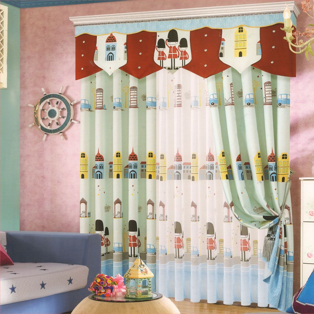 Types Of Boy Curtains To Be Hung With Images Kids Room