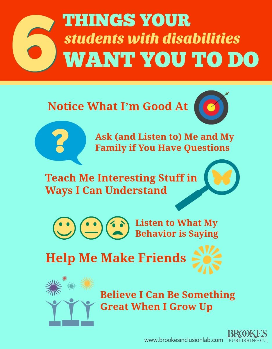 6 Things Your Students with Disabilities Want You to Do | disability ...