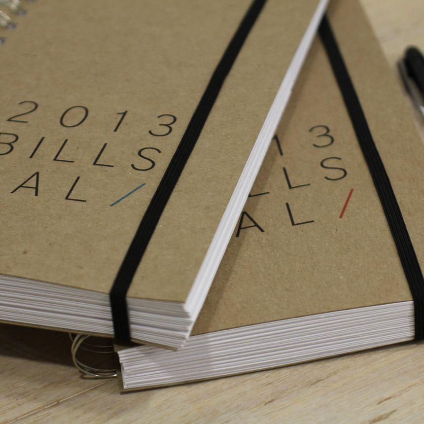 2018 Dated Bills Calendar Organizations, Organizing and Household - bill calendar