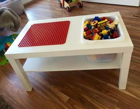 Stijlvolle Speeltafel Kinderkamer : Zelf te maken speeltafel tafel en opberbox van de ikea