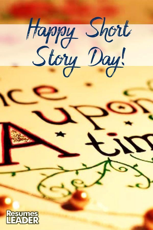 We wish you to have a happy Short Story Day! #HappyShortStoryDay