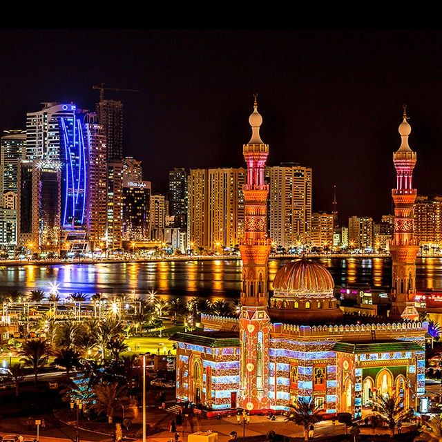 2/14 Sharjah Light Festival In Dubaii