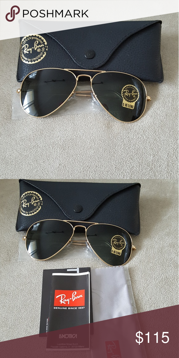 87cb221989a43e Ray ban sunglasses Ray ban sunglasses g15 lenses brand new with case Ray-Ban  Accessories Glasses