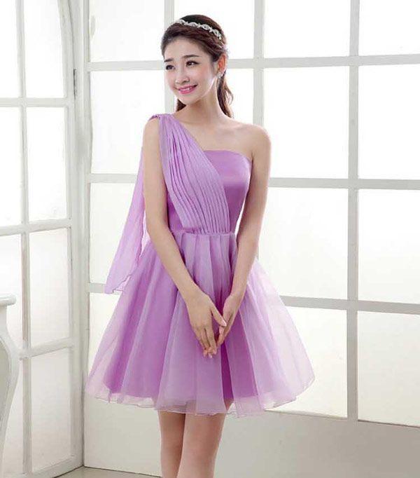Gaun Pesta Pendek Cantik Dan Elegan Model Terbaru A2904 Pretty
