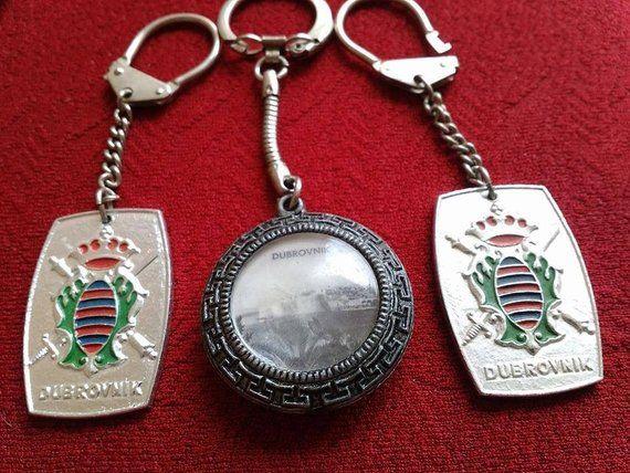 2267f89074b1 Keychains Dubrovnik Croatia Hrvatska Vintage Key Chain Collection Souvenirs  Sale