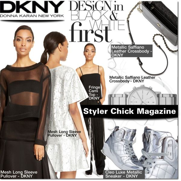 """DKNY"" by barbarela11 on Polyvore"