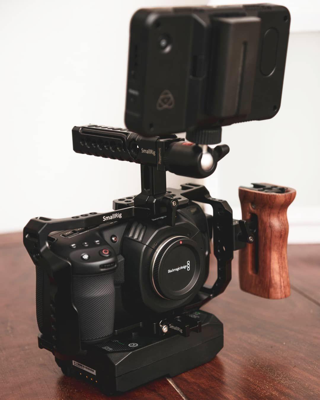 Pin By Josiah Barnett On Camera In 2020 Camera Rig Smallrig Blackmagic Design