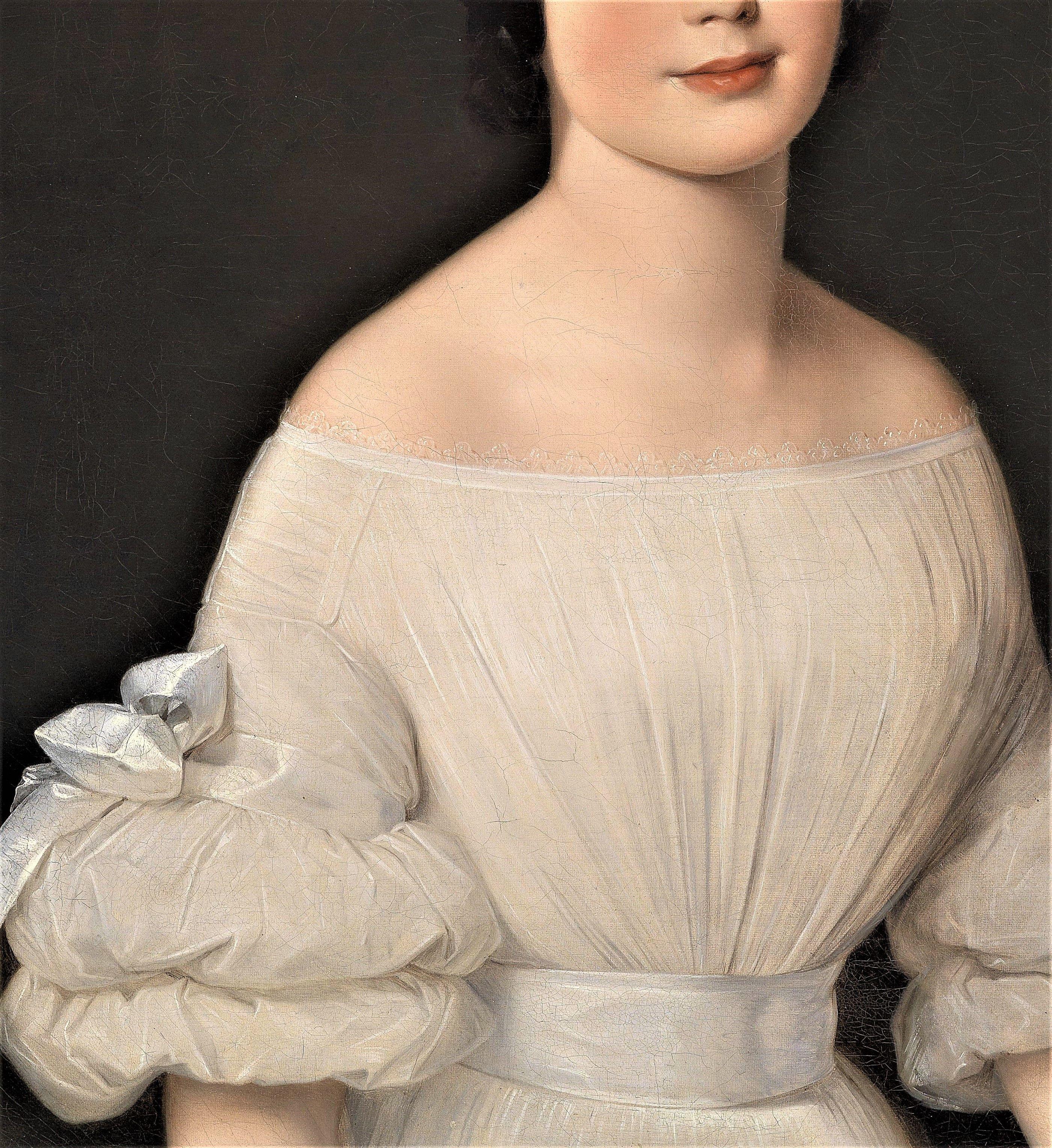 Portrait of A Lady by Anton Einsle