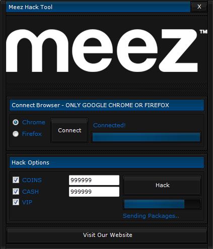 meez account hack