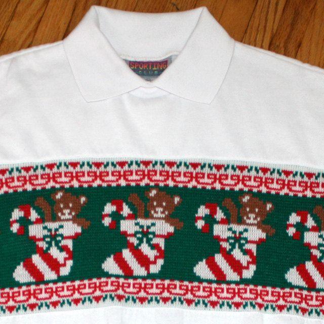It's technically a shirt, but it's got a sweater insert. AN INSERT!!  $18.00, via Etsy.