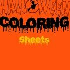 Halloween Coloring Sheets has never been more fun! Once your little Van Gogh's chooses a coloring page, watch them go as they show off their inspir...