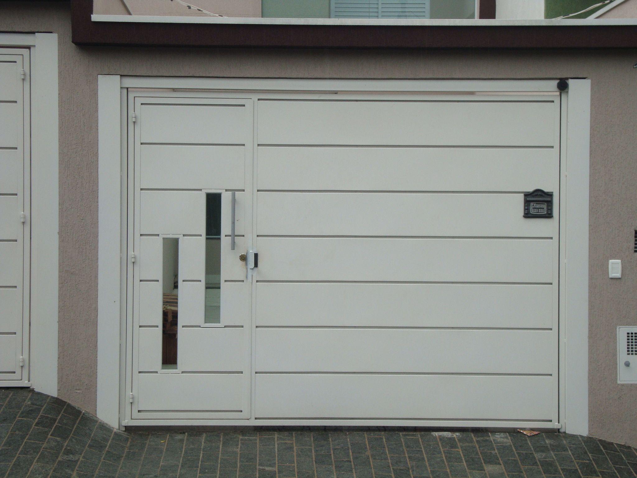 Extremamente Portões residenciais - portão pequeno embutido no portão  GK52