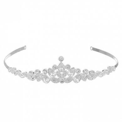 EVER FAITH® Austrian Crystal Wedding Hair Tiara Headband Silver-Tone N03998-1 lzXm8b8d