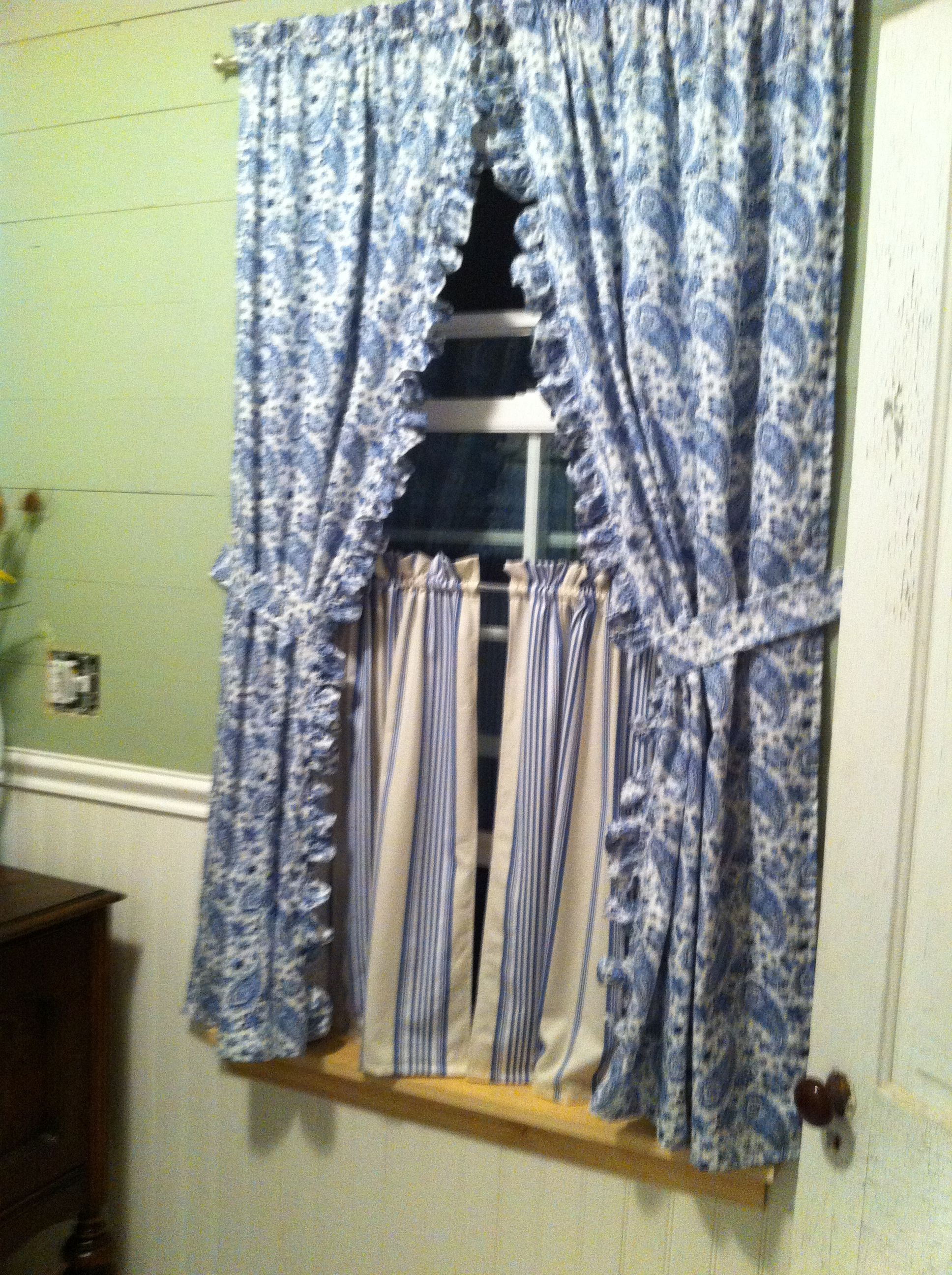 Bathroom Curtains Wouldnt Want So Much Frills But Kinda Like