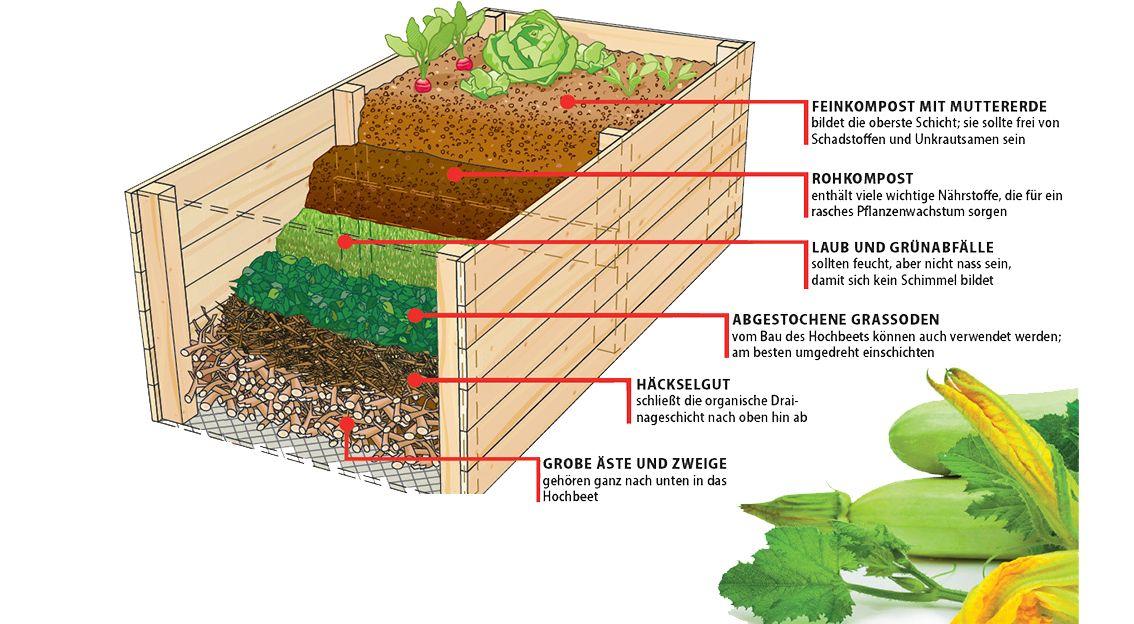 Drainage Furs Hochbeet Selbst De Hochbeet Gartengestaltung Hochbeet Hochbeet Anlegen