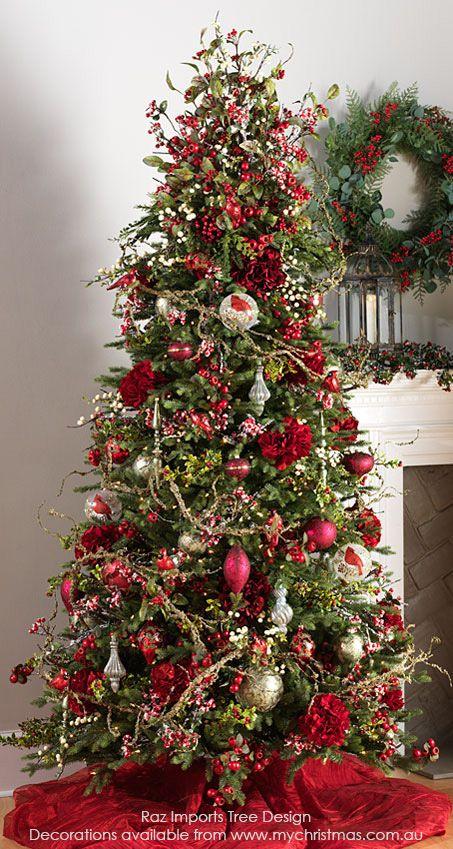 raz imports botanic christmas tree 2016