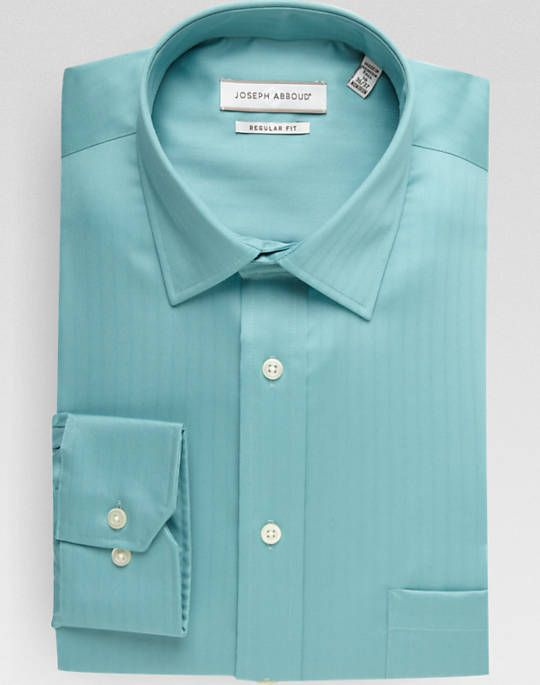 Teal colored dress shirts for men